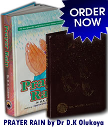 Prayer Rain:: Order NoW!