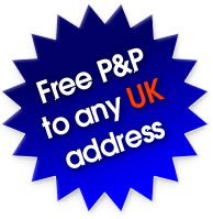 Free P&P from all UK and US orders